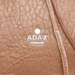 Adax logo - leather bag