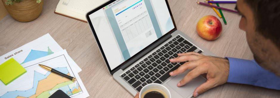 Email fakturering