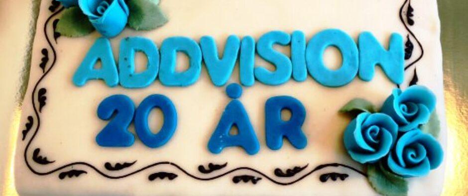 ADDvision fylder 20 år