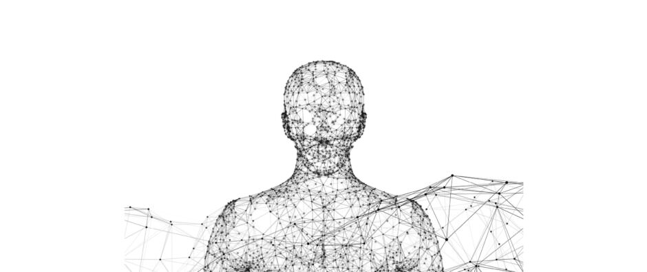wireframe menneske